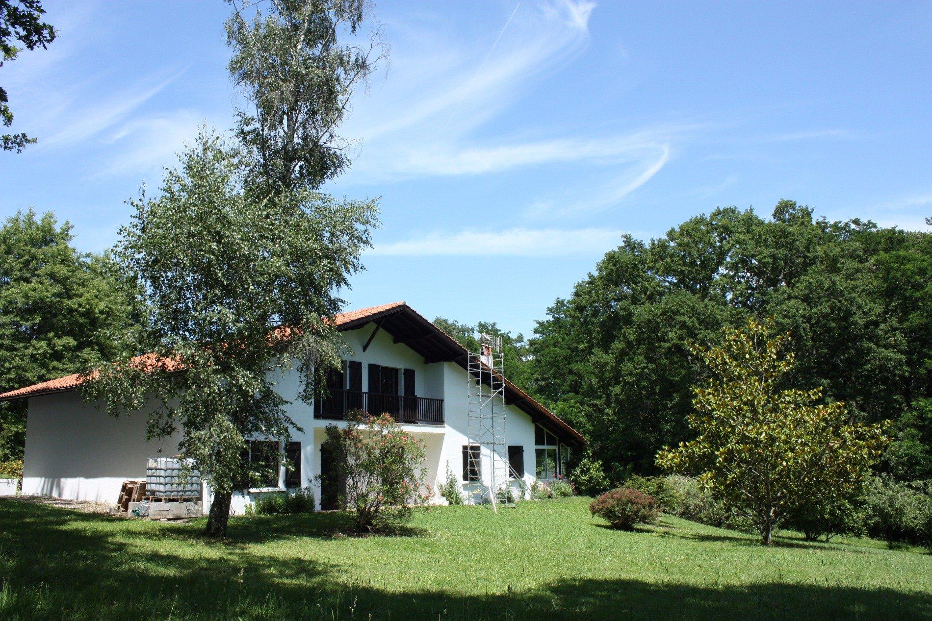Maison a vendre a 5 min de bayonne terres oc an for Acheter maison hossegor