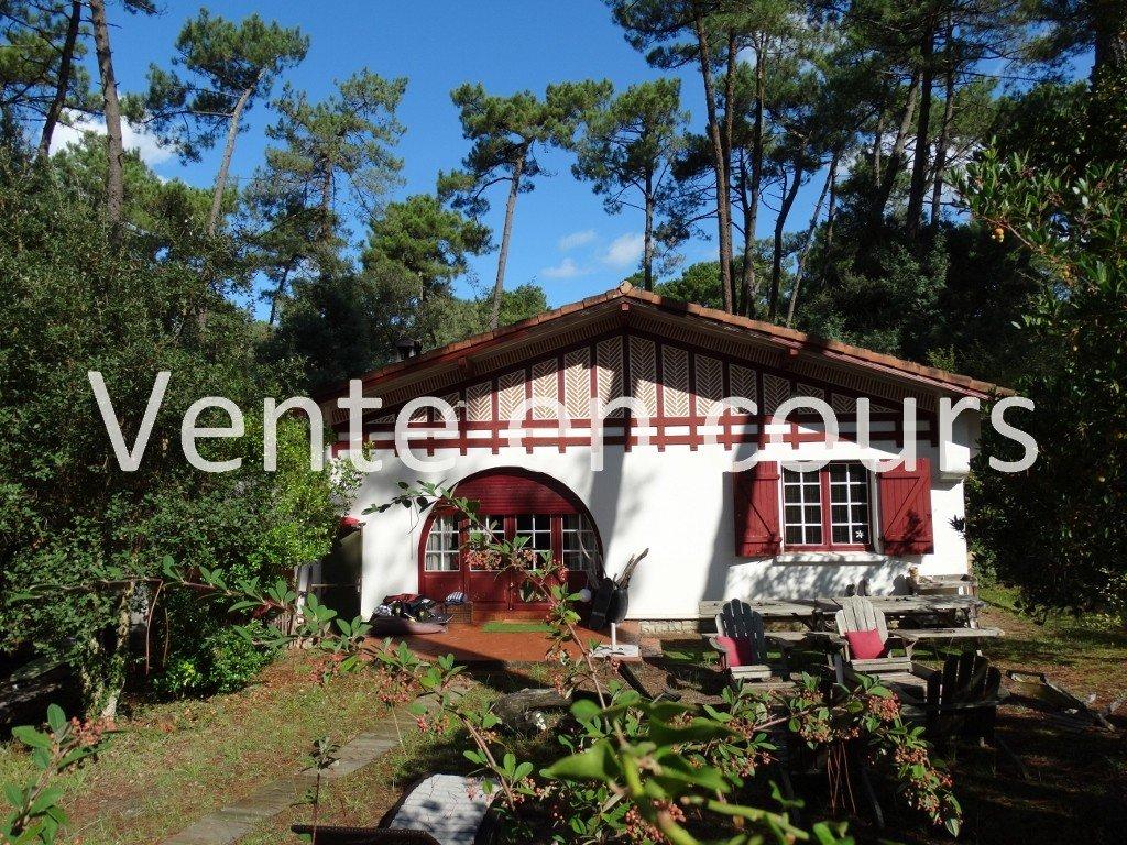 Maison basco landaise hossegor calme et residentiel for Acheter maison hossegor